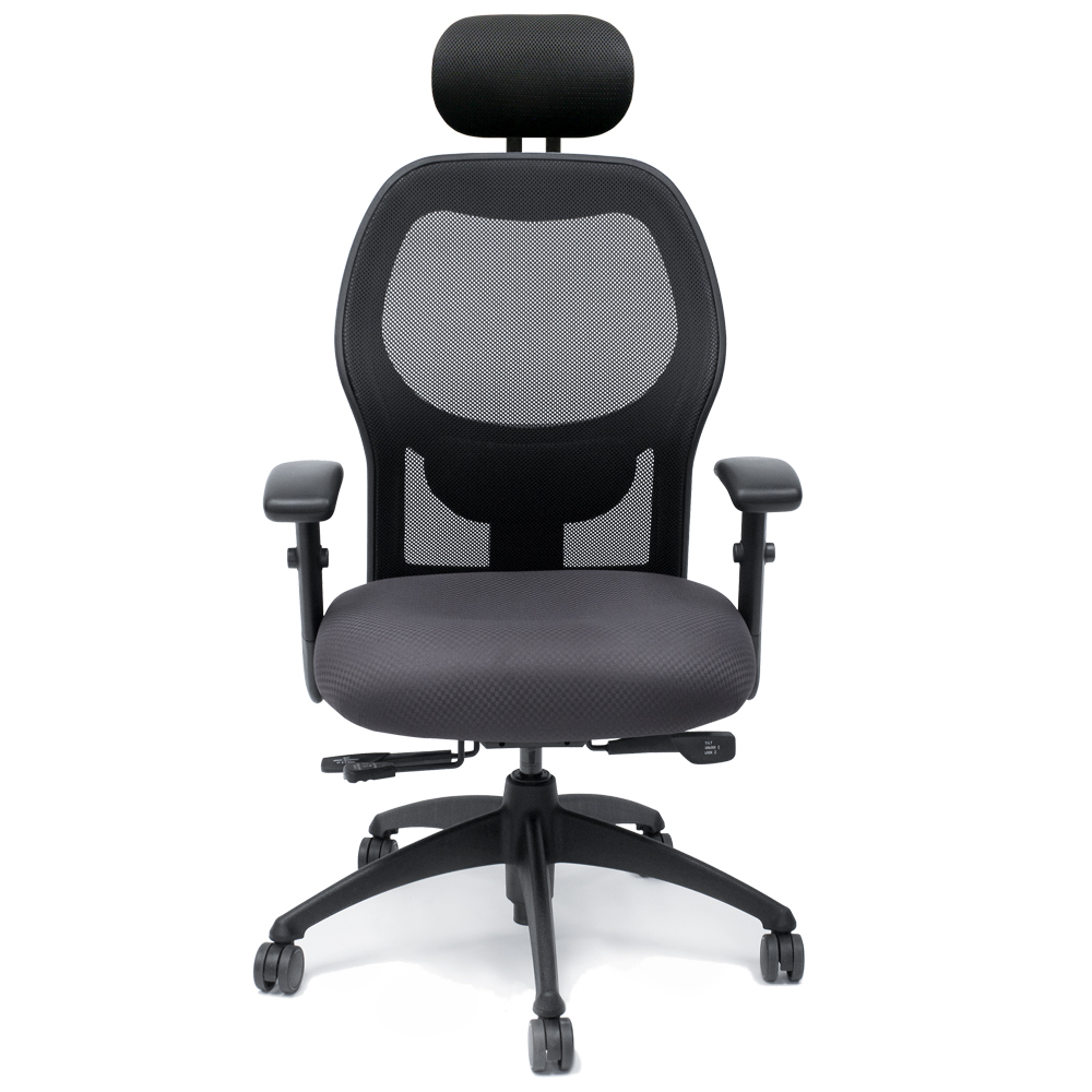 Brentwood Chair With Headrest Ergonomic Task Calpia