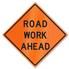 Retro-Reflective Sign - Road Work Ahead