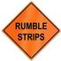 Retro-Reflective Sign - Rumble Strips