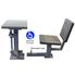 Security Desk With Removable Chair - Wheelchair Accessible